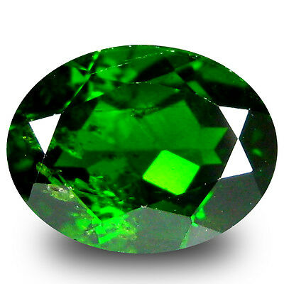 2.33 ct  Tremendous Oval Shape (9 x 7 mm) Green Chrome Diopside Natural Gemstone