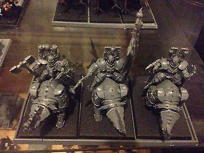 Warhammer Fantasy Chaos Warriors Skull Crushers With Movement Tray