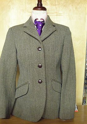 Pytchley Mears childs Unisex Chase Brown Tweed Riding Jacket Hunting/Showing