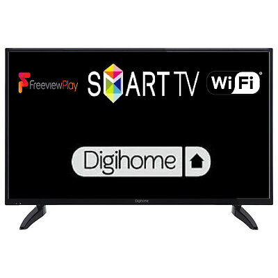 "Digihome 43287DFP 43"" Smart LED TV Full HD 1080p With Freeview Play & Wi-Fi"