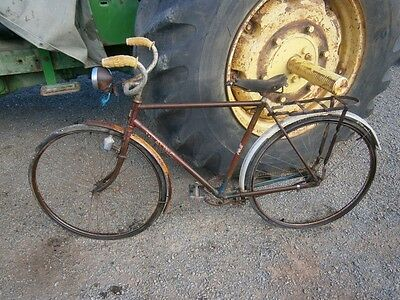 Vintage Healing Mens Bike, Bicycle, Push Bike, May Suit Malvern Star Collector