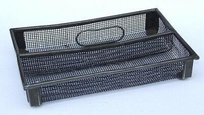 Vintage Wire Mesh Cutlery Tray