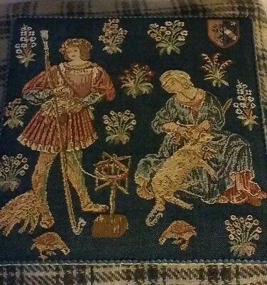 Traditional Tapestry Christ Church Oxford Noble Pastoral Made in Cornwall