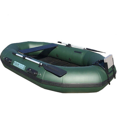 AQUAPARX Boot 260 Angelboot Ruderboot Schlauchboot Paddelboot PVC  Gummiboot