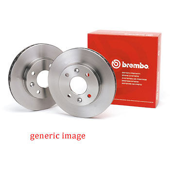 TO CLEAR - NEW - BREMBO - FRONT - BRAKE DISCS (x2) - 09.7131.14