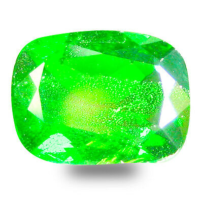 2.99 ct  Exquisite Cushion Shape (10 x 8 mm) Green Chrome Diopside Gemstone