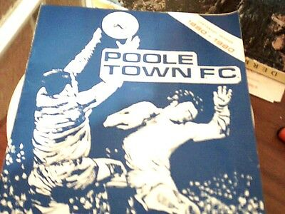 80/81 Poole Town V West Bromwich Albion [Centenary Friendly 23/2/81]