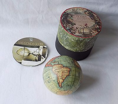 Authentic Models Usa, Vaugondy Globe, 1745.boxed