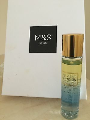 Marks & Spencer Island Escape Eau De Toilette  Spray 25Ml New