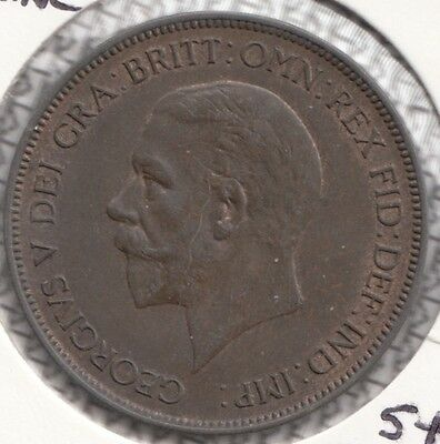 "1936 George V  ""UNC"" PENNY SPINK S4055 FREEMAN F214 DIES 5+C  NICELY TONED"