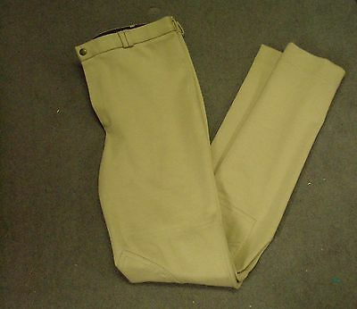 Shires Men's SaddleHuggers Beige Jodhpurs Size 34""