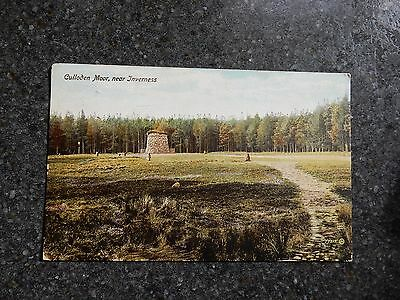 1916 fr postcard- CullodenMoor - Nr Inverness - Scotland