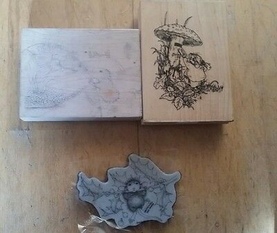 house mouse rubber stamps clear out bundle x3