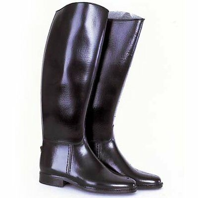Loveson Chester Black Rubber Riding Boot