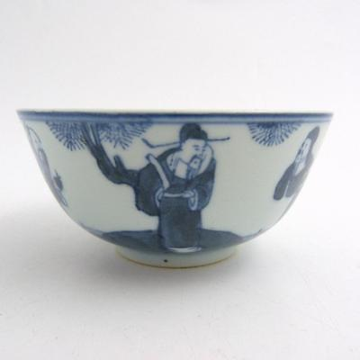 Chinese Blue And White Porcelain Bowl, 19Th Century