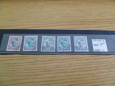 Luxembourg SF 302-6 Catalogue Value £140+ Ref RU23