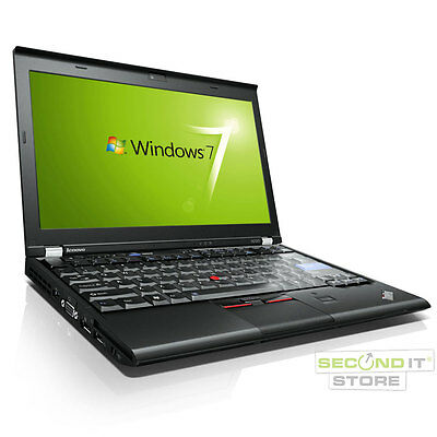 Lenovo ThinkPad X220 Notebook Intel Core i5 2x 2,5 GHz 8 GB RAM 128 GB SSD Win7