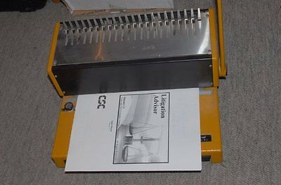Well Made Komborella Swiss Steel Comb Spiral Book Binder Binding Machine