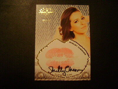 2016 Benchwarmer Daizy Dukez Update Shelby Chesnes KISS and AUTO GOLD Ser# 5/10