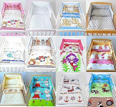 BABYLUX bed frame nest with head protection 180 cm x 30 cm or 210 x 30
