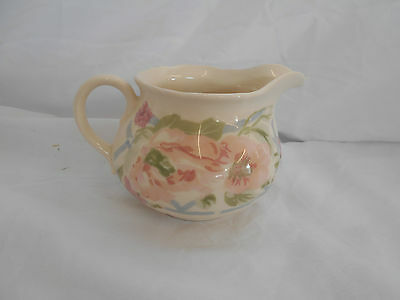 Truly STUNNING Ceramic JUG Milk Cream by LIBERTY of LONDON 8cms HEIGHT Floral