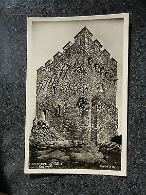 Early Ministry of works postcard- Dolwyddelan Castle- Conwy - North Wales