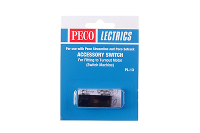 Peco PL-13 Accessory Switch for Turnout Motor OO/HO Gauge