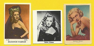 Eleanor Parker Fab Card Collection Woman of a Thousand Faces Caged B