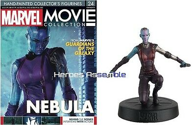 Marvel Movie Collection #24 Nebula Figurine Eaglemoss (22 23) Guardians Galaxy