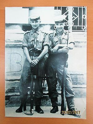 Photograph ROYAL NAVY SPECIAL FORCES HONG KONG 1945 Annotated