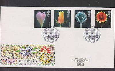 GB 1987 Flowers   First Day Cover SHS: FDI Richmond
