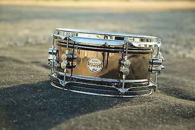 "PDP by DW Concept 6""x12"" Snare Drum - Black Nickel over Steel - PDSN0612BNCR"