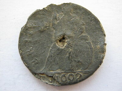 1692 Tin Farthing Poor