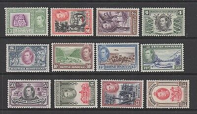 British Honduras 1938 - 1947 Set MH SG 150 - 161