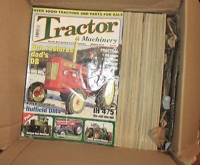 43 x TRACTOR AND MACHINERY MAGAZINES 2010  TO 2013 ALL VGC. HAPPY TO SHIP