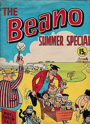 The Beano Comic Summer Special 1973 In Good Condition
