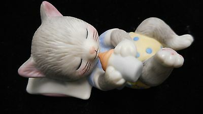 Vintage Case Of 6 Little Cat Figurines By Bronson Bc 1993 ***** Rare *****