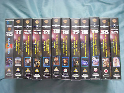 Any 3  Babylon 5 Videos from volumes 10 - 21 still new and sealed in plastic