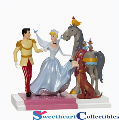 Department 56 Disney Cinderella Happily Ever After Retired 59165