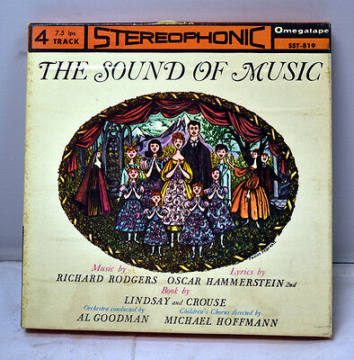 The Sound of Music 4 Track Reel-to-Reel Tape OmegaTape SST-819