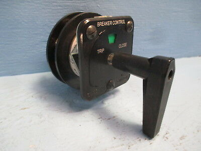 Electroswitch 2438D 20A 600V Rotary Switch Series 24 Breaker Control Trip Close