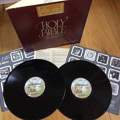 THE STATLER BROS. - HOLY BIBLE - The Old And New Testaments - DOUBLE LP EX/NM