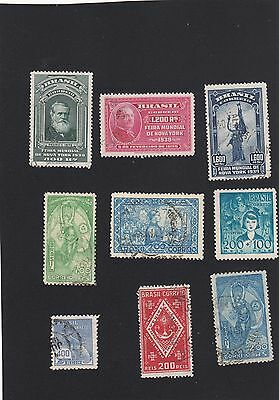 Brazilian stamps - small lot