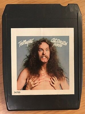 Ted Nugent / Cat Scratch Fever / 8 Track Cassette Tape 1977