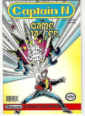 Captain N : The Game Master Vol. 1 #3 (1990) VG  Nintendo Comics System