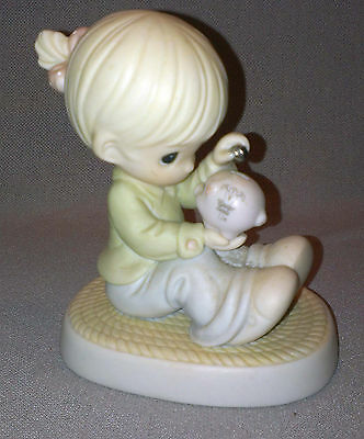 1996 PRECIOUS MOMENTS * YOU CAN ALWAYS COUNT ON ME * EASTER SEALS * limited ed