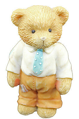 Cherished Teddies Child of Pride Our Cherished Family Older Son 624829 Boxed