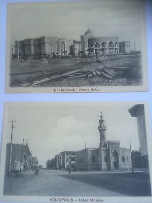 2 X Unused Heliopolis Postcards Series 634
