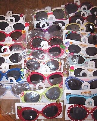 Gymboree Girls Sunglasses Ages 4 and up New Many Lines You Pick 4 5 6 7 8