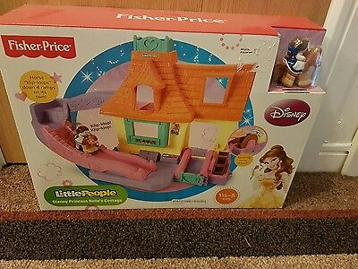 Fisher Price Little People Disney Princess Beauty and the Beast Belle's Cottage